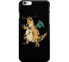 Dragonite Splatter iPhone Case/Skin