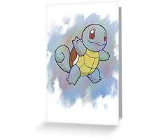 Watercolour Squirtle Greeting Card