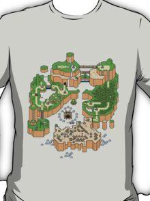 Super mario world map T-Shirt