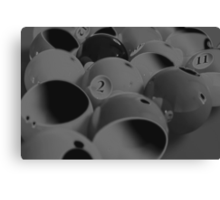 sliced balls Canvas Print