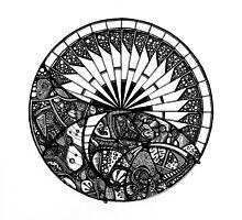 Horizon Mandala by CRiveraScott