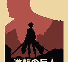 Attack on Titan Poster Version by Gabriel Gutierrez