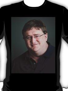 Gabe Newell Steam God T-Shirt