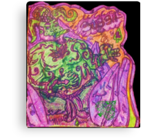 Ganja Guardians #1:Bubba {Trippy} Canvas Print