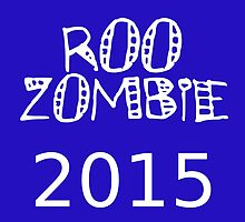 2015 Roo Zombie - No.1 North Melbourne Supporter 2015 season by aint-no-zombie