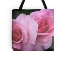 Raindrops on Roses ~ Yesterday's Tears Tote Bag