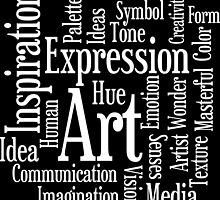 Art and Creativity Artist's Word Cloud by AntiqueImages