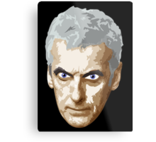 Doctor Who #12 Peter Capaldi Metal Print