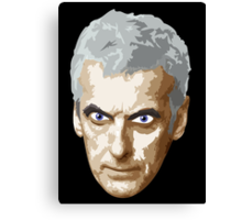 Doctor Who #12 Peter Capaldi Canvas Print