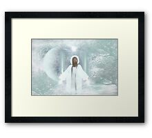 Made a promise...2 more days Framed Print
