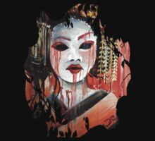 Geisha in Autumn Rain: The Innocent Concubine T-Shirt