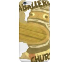 Caballero Churros iPhone Case/Skin