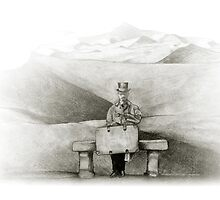 waiting in the desert by art-koncept