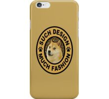 doge (such design much fashion) iPhone Case/Skin