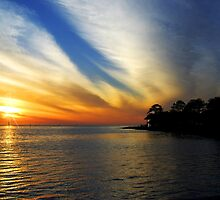 Gulf of Mexico Sunset by designingjudy
