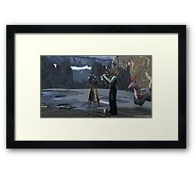Zum Rider: Artifact Framed Print