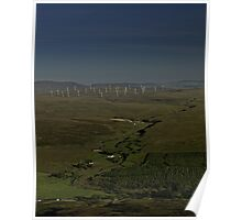 Wind Farms on Inishowen Peninsula Poster