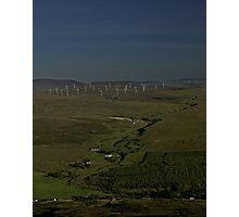 Wind Farms on Inishowen Peninsula Photographic Print