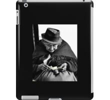 Indigenous Straw Weaver III iPad Case/Skin
