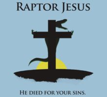 Raptor Jesus on Easter by jezkemp