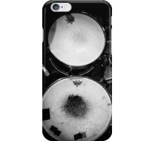 Battered Retro Drums iPhone Case/Skin