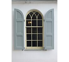 The Arched Window Photographic Print