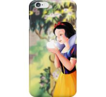 Miss White Apple logo iPhone Case/Skin