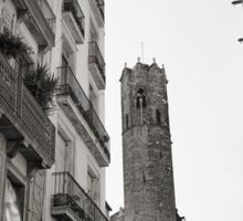 Barcelona Religion Sticker