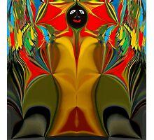 Afro Art Photographic Print