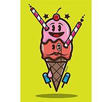 Ice Cream Vector Photographic Print