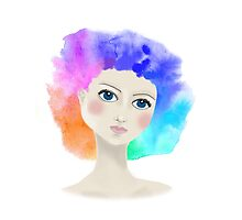 Rainbow-fro by Lou Endicott