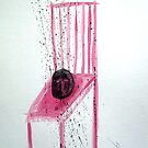 CABEZA EN SILLA (head on a chair) by Alvaro Sánchez