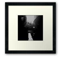 skinny bridge Framed Print