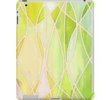 Lemon & Lime Love - abstract painting in yellow & green iPad Case/Skin