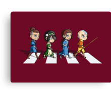 Avatar Road Canvas Print