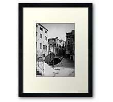 no wheelchairs Framed Print