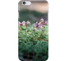 Wildflowers Emerging from Groundcover iPhone Case/Skin
