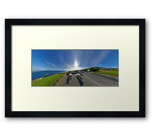 Donegal Bay - Panorama Framed Print