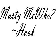 Marty McWho? by colorfulmoniker