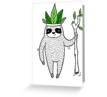 King of Sloth Greeting Card