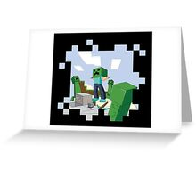 Minecraft Skill #67: Camouflage Greeting Card