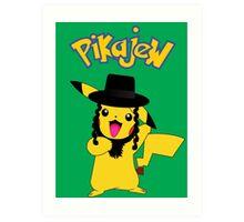 Pikachu - Pikajew , Pokemon Art Print
