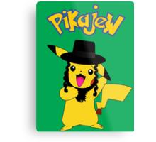 Pikachu - Pikajew , Pokemon Metal Print