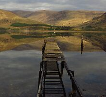 Reflections; Loch Linnhe, Scotland by wiggyofipswich