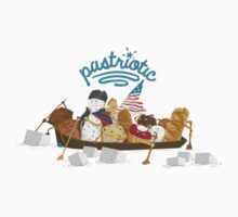Pastriotic - Washington Crossing the Deleware Kids Clothes