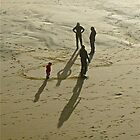 Sand Shadows by Scott Johnson