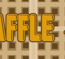 WAFFLE - O Sticker