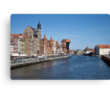Gdansk ( Danzig ) - Poland   Canvas Print