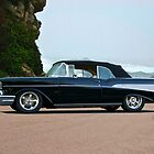 1957 Chevrolet Bel Air Convertible 2 by DaveKoontz