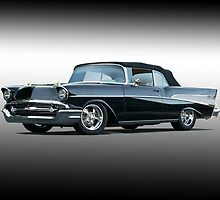 1957 Chevrolet Bel Air Convertible 'Studio 1' by DaveKoontz